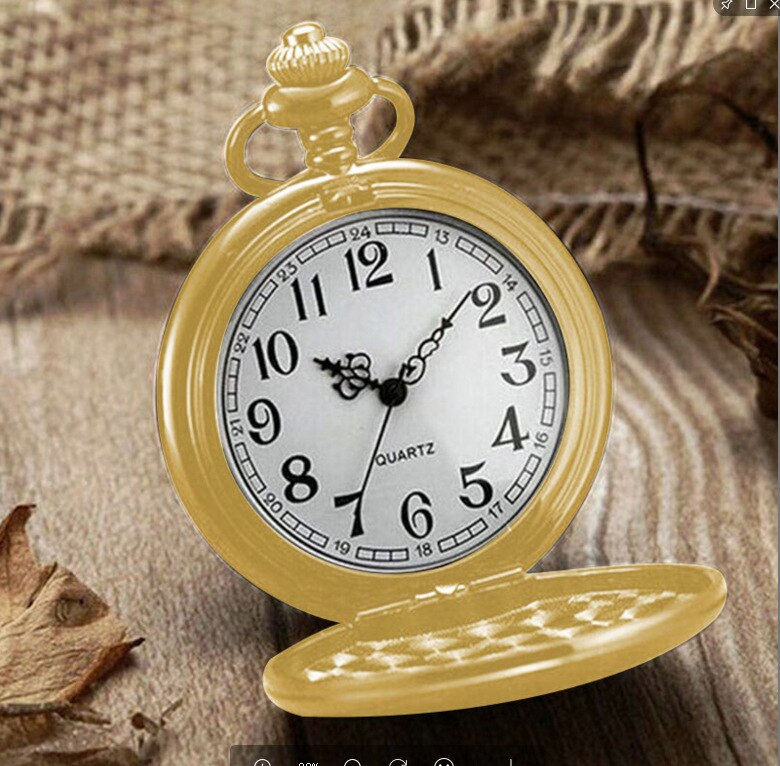 Classic Quartz Packet Luxury Simple Clock Hours
