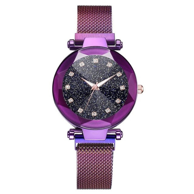 Ladies Magnetic Starry Sky  Luxury  Watch