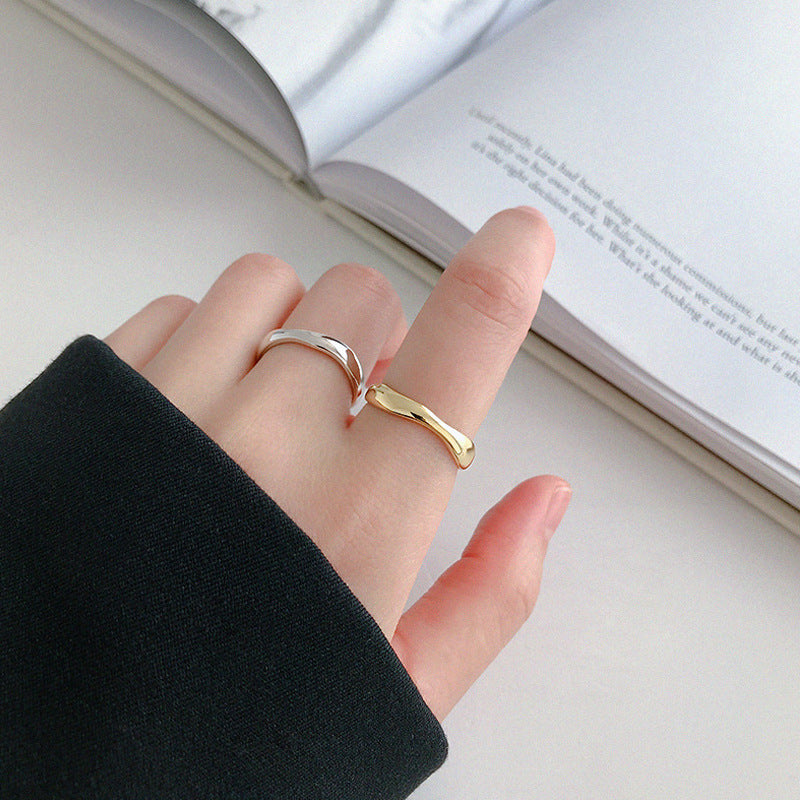 Personalized fashion index finger ring
