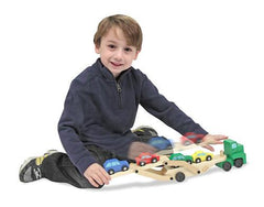 Wooden Car Carrier @ https://www.jestersfunfactory.net/