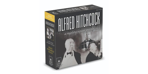Alfred Hitchcok Mystery Puzzle