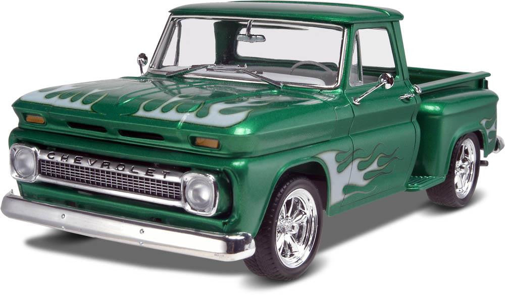 1/25 '65 Chevy® Stepside Pickup 2 'n 1 Plastic Model Kit