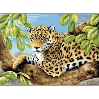 Paint by Numbers - Leopard in Tree