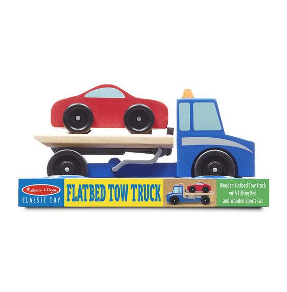 Flatbed Tow Truck >> Wooden Flatbed Tow Truck