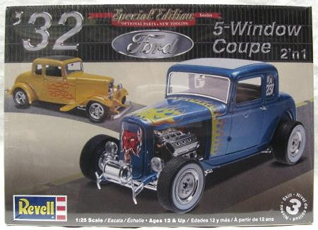 '32 Ford 5-Window Coupe 2 'n 1