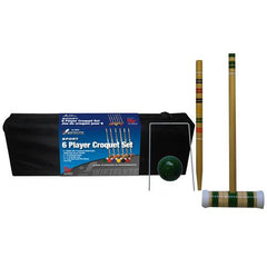 "Swiftflyte ""Sport"" 6-Player Croquet Set"