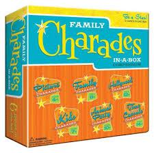 Family Charades In-A-Box 6 in 1