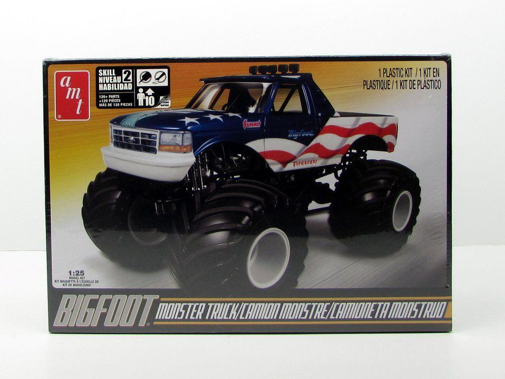 AMT Bigfoot Monster Truck @ https://www.jestersfunfactory.net/
