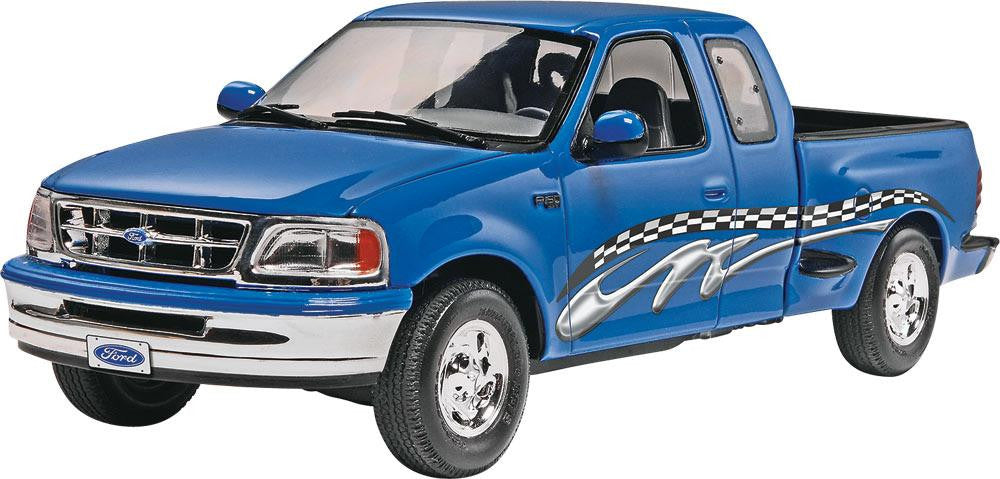 Ford F  Xlt Plastic Model Kit