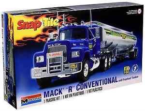 "Mack ""R"" Conventional and Fruehauf Tanker"