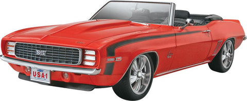 1/25 '69 Camaro™ SS/RS Convertible 2'n 1 Plastic Model Kit