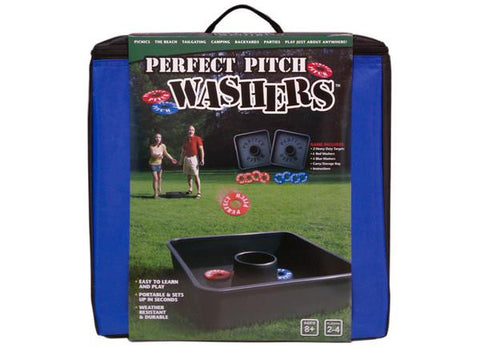 Perfect Pitch Washer Toss!