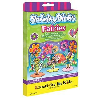 Shrinky Dink Faries @ https://www.jestersfunfactory.net/