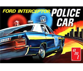 1970 FORD GALAXIE INTERCEPTOR POLICE CAR