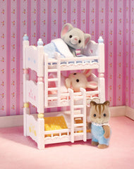 Calico Critters Triple Bunk Beds for sale at Jester's!