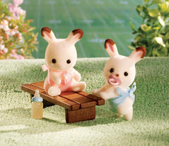 Hopscotch Rabbit Twins @ https://www.jestersfunfactory.net/