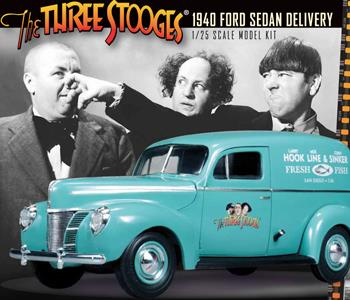 Three Stooges 1940 Ford Sedan Delivery for sale online in Canada