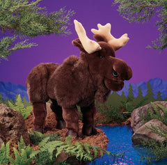 Moose Puppet for sale in Canada at Jester's