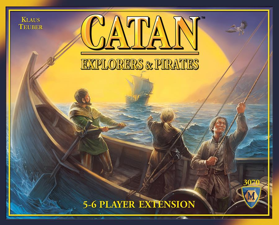 (Settlers Of) Catan Exploreres and Pirates @ https://www.jestersfunfactory.net/