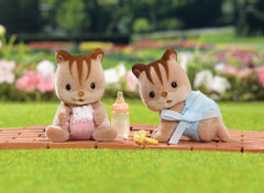 Hazelnut Chipmunk Twins @ https://www.jestersfunfactory.net/