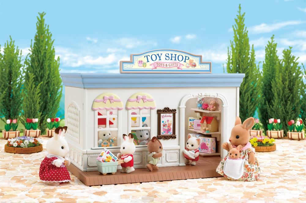 Calico Critters Toy Shop @ https://www.jestersfunfactory.net/