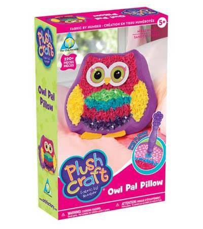 Owl Pal Plush Craft Pillow