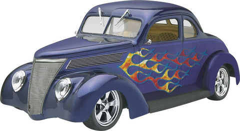 1/24 '37 Ford Coupe Street Rod Plastic Model Kit