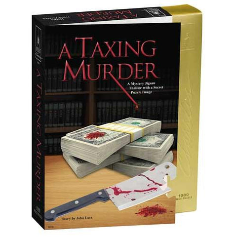 A Taxing Murder - Mystery Puzzle