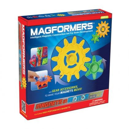 Magformers 20 piece Gear Set