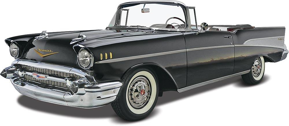 1 25 57 chevy convertible plastic model kit for sale online