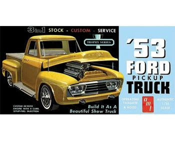 1953 FORD PICKUP AMT Model Kit