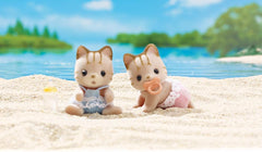 Sandy Cat Twins @ https://www.jestersfunfactory.net/