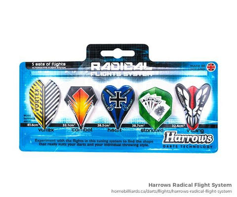 Dart Flights Radical 5 pack