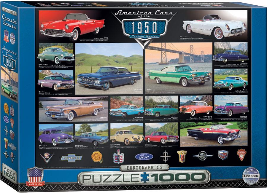 American Cars of the 1950s 1000pc @ https://www.jestersfunfactory.net/