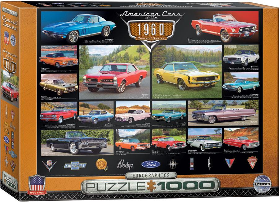 American Cars of the 1960s 1000pc @ https://www.jestersfunfactory.net/