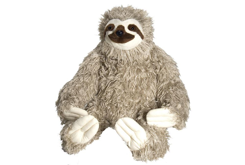 Cuddle Kins Giant Sloth @ https://www.jestersfunfactory.net/
