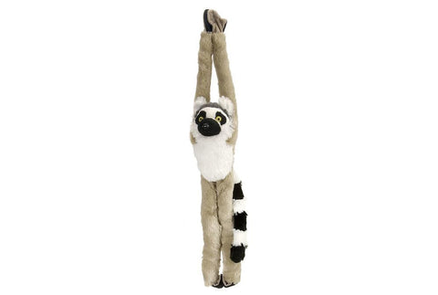 Hanging Ring Tailed Lemur Stuffed Animal - 20""
