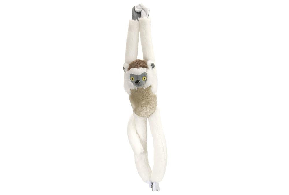 Hanging Verreauz Sifaka Stuffed Animal - 20""