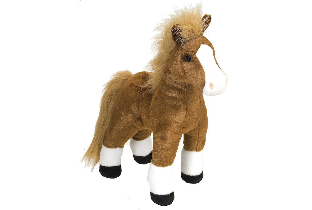 Brown Standing Horse 12""