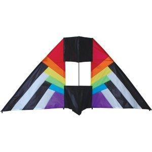 66 inch Box Kite - Delta Rainbow