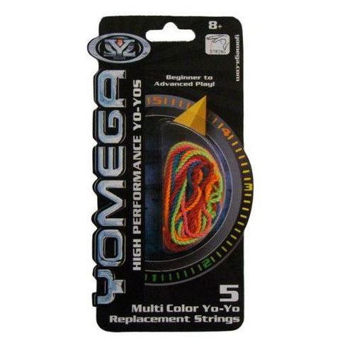 Yomega Replacement String - Multi Color 5 Pack