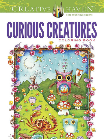 Curious Creatures - Colouring Book