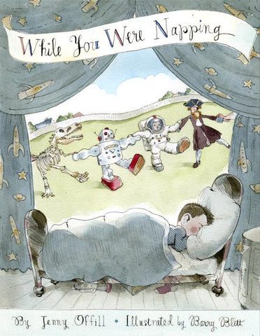 While You Were Napping - by Jenny Offill