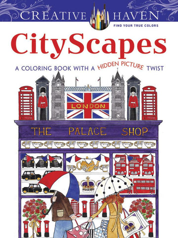 City Scapes Coloring Book