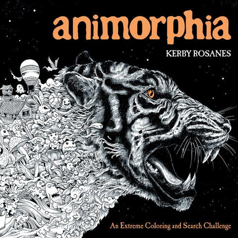 Animorphia Coloring Book