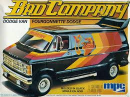 Bad Company 1982 Dodge Van