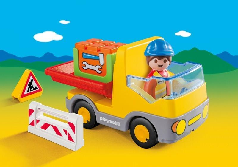Construction Truck @ https://www.jestersfunfactory.net/