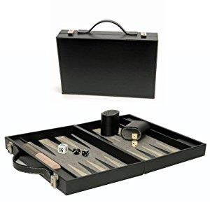 Backgammon with Black Case