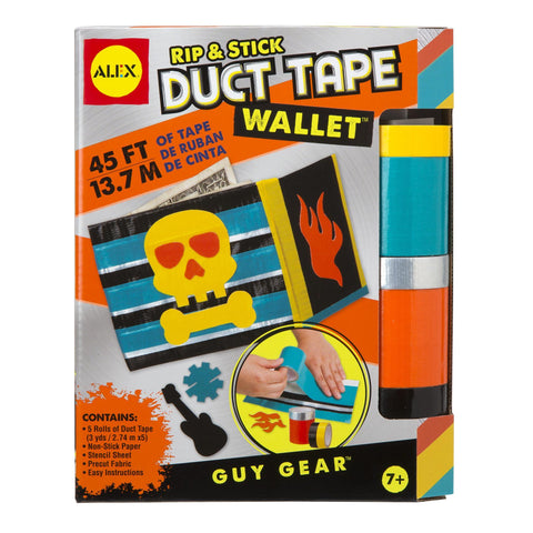 Duct tape wallet Rip and Stick
