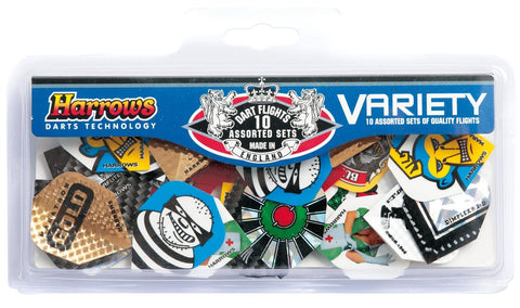 Dart Flights Variety Pack 10 Sets